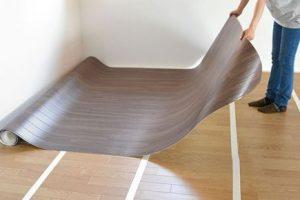 Cushion floor installation